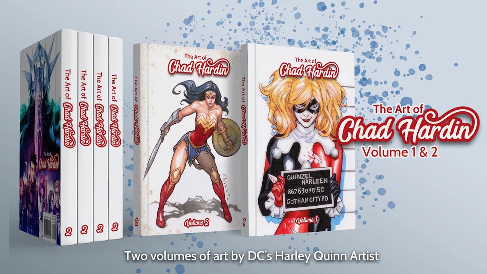 The Art of Chad Hardin Volumes 1 & 2