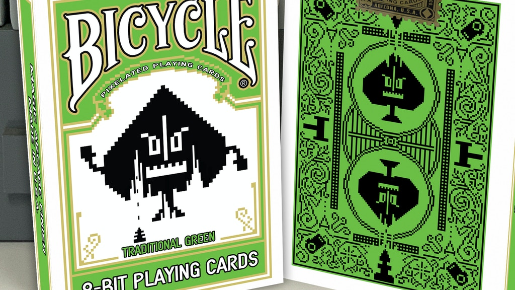 Project image for 8-Bit Playing Cards Traditional Green Deck