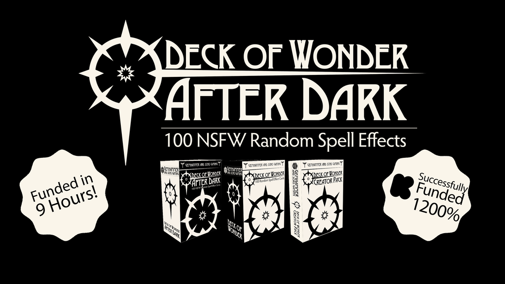Deck of Wonder: After Dark - 100 NSFW Random Spell Effects project video thumbnail