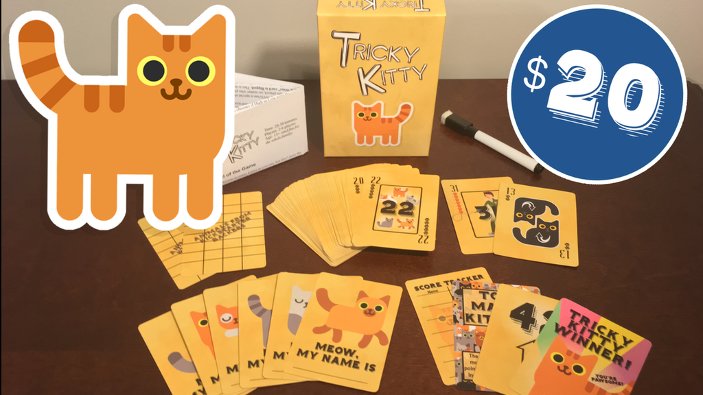 Tricky Kitty 🐱 - Make 100 project video thumbnail
