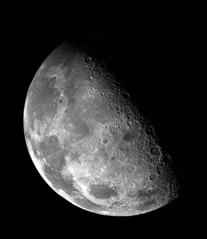 Mother Earth's beautiful Moon
