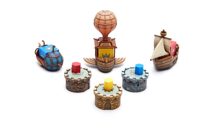 A single set of hand-painted prototypes!