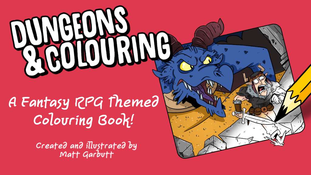 Dungeons & Colouring! project video thumbnail