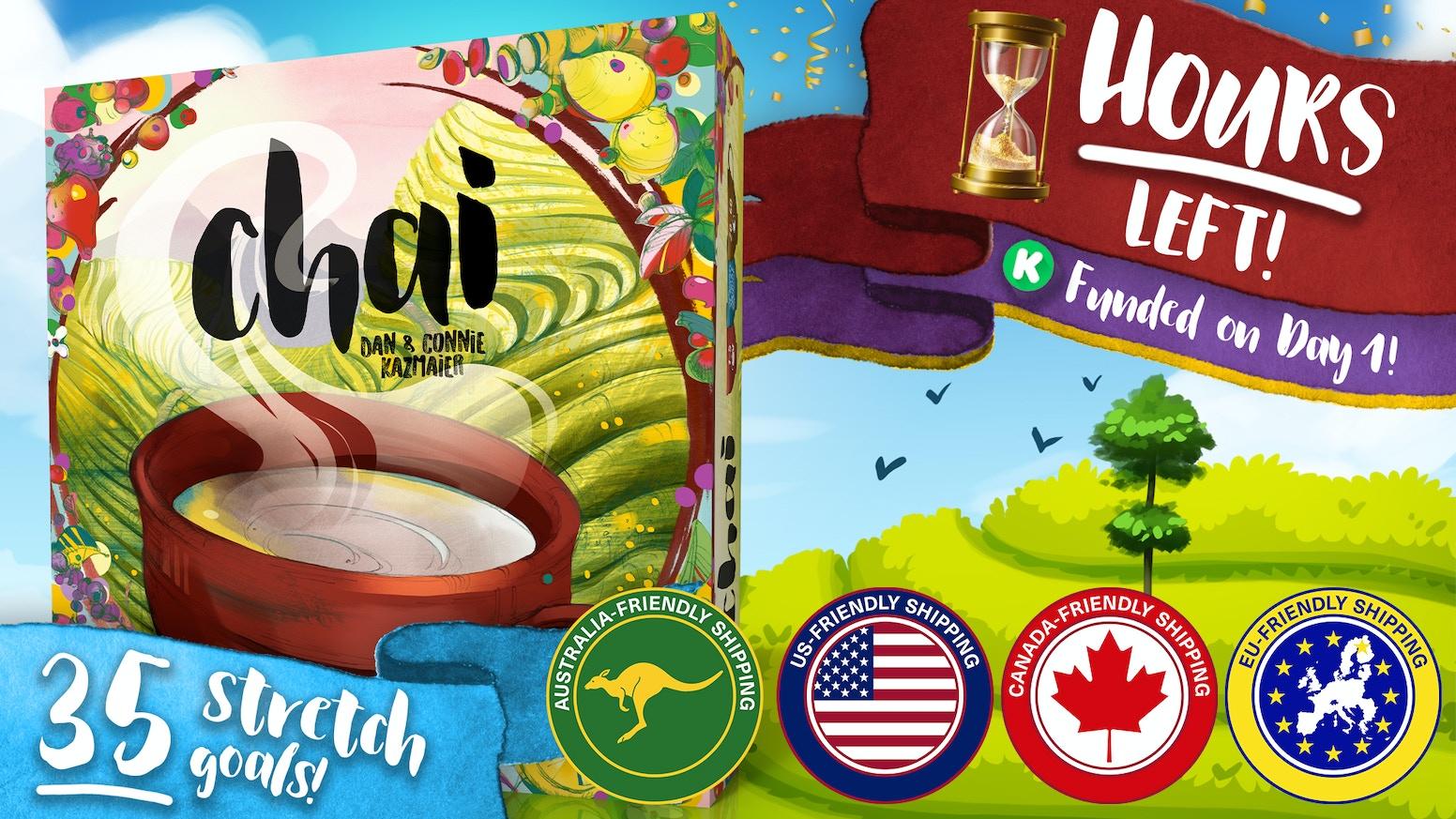 ☕️ Chai—An Immersive Tea Board Game! by Dan & Connie