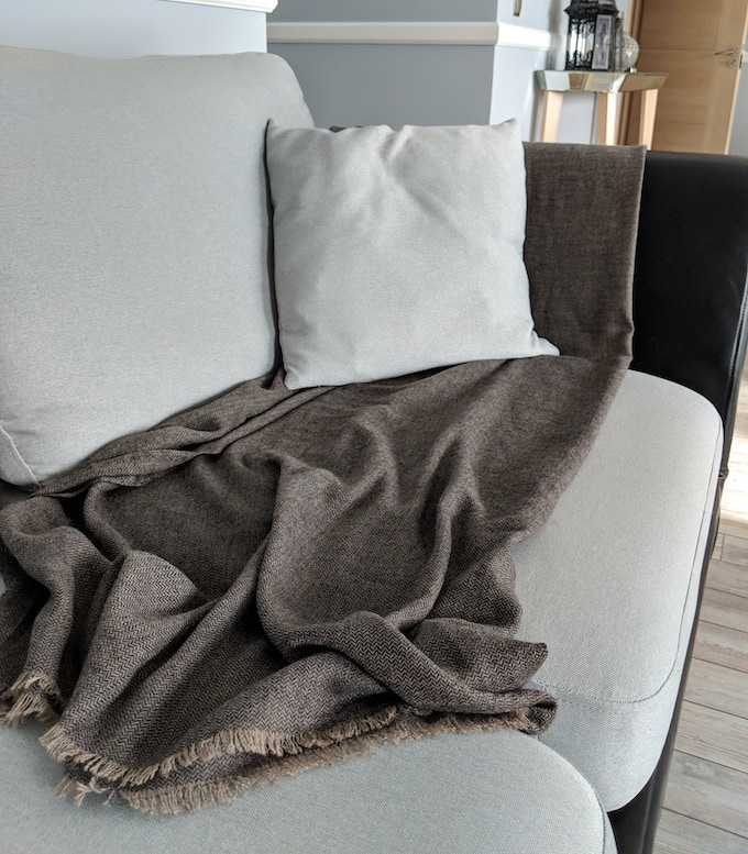 Featherweight Cashmere Throw