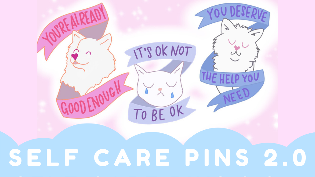 Self Care Pins 2.0