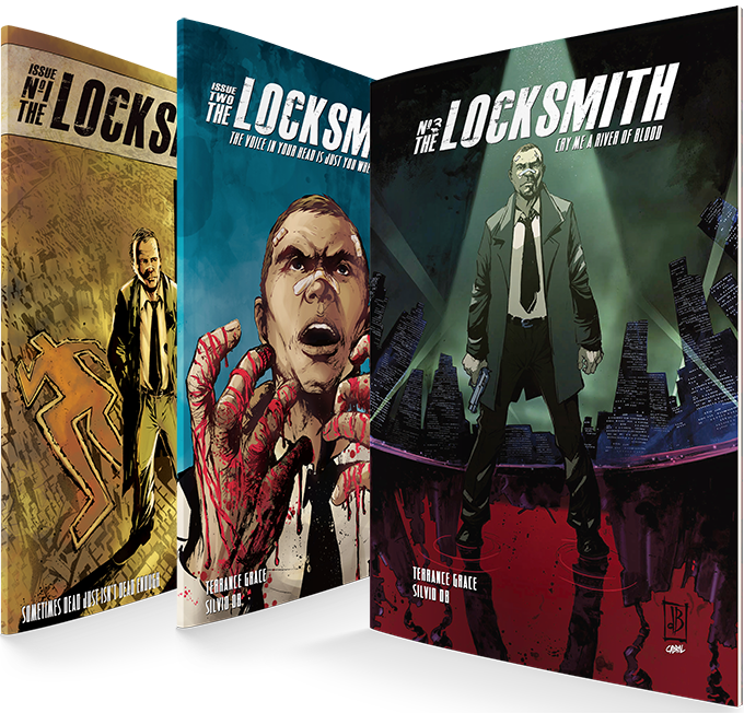 The Locksmith issues 1-3