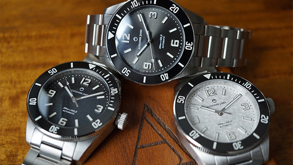 Alexander James Watches: NDR001 - A Watch for Every Occasion