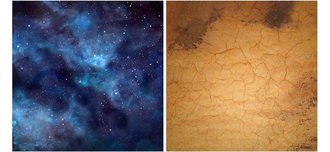 Blue Stars / Desert