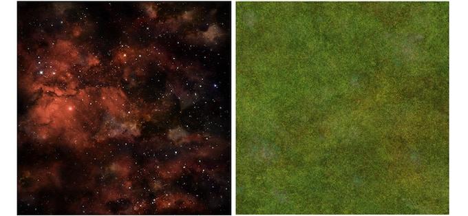 Red Stars / Grass