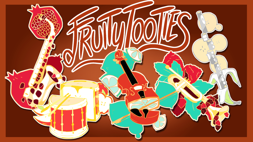 Project image for Fruity Tooties Enamel Pins