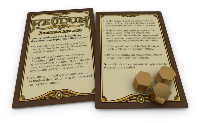 Feudum: Rudders and Ramparts by Mark Swanson — Kickstarter