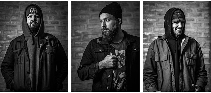 Founders: Troy Craft, Andrew Volk and Kevin Craft (Photos by Duimstra Imagery)