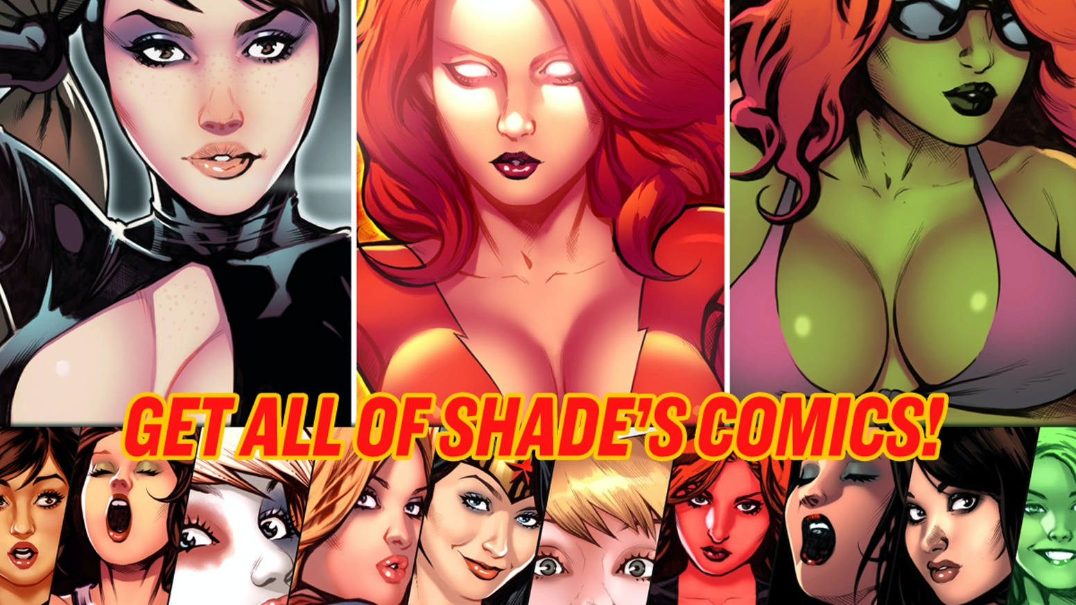 Get all of artist Shade's comics in this second chance opportunity!