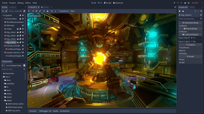 Create Your Own Games With Godot The Free Game Engine By Nathan Lovato Kickstarter