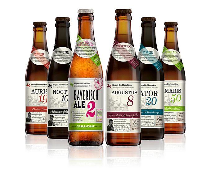 Example of craft beer pack from Craft Beer Baron.