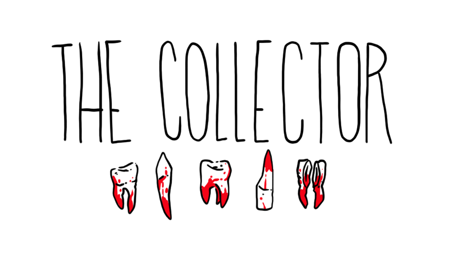 A risograph comic about a serial killer and his teeth collection