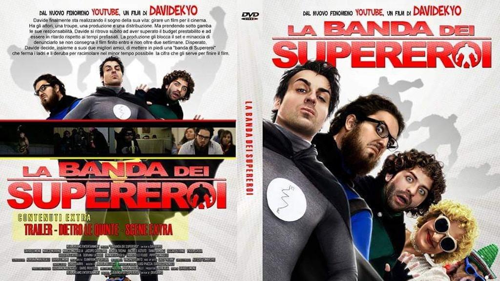 DVD La Banda dei supereroi di Davidekyo
