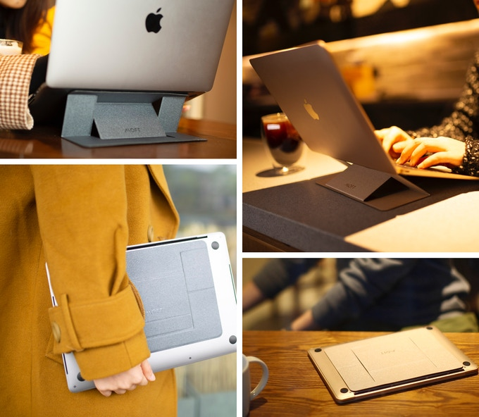 Enjoy ergonomic comfort anywhere and anytime