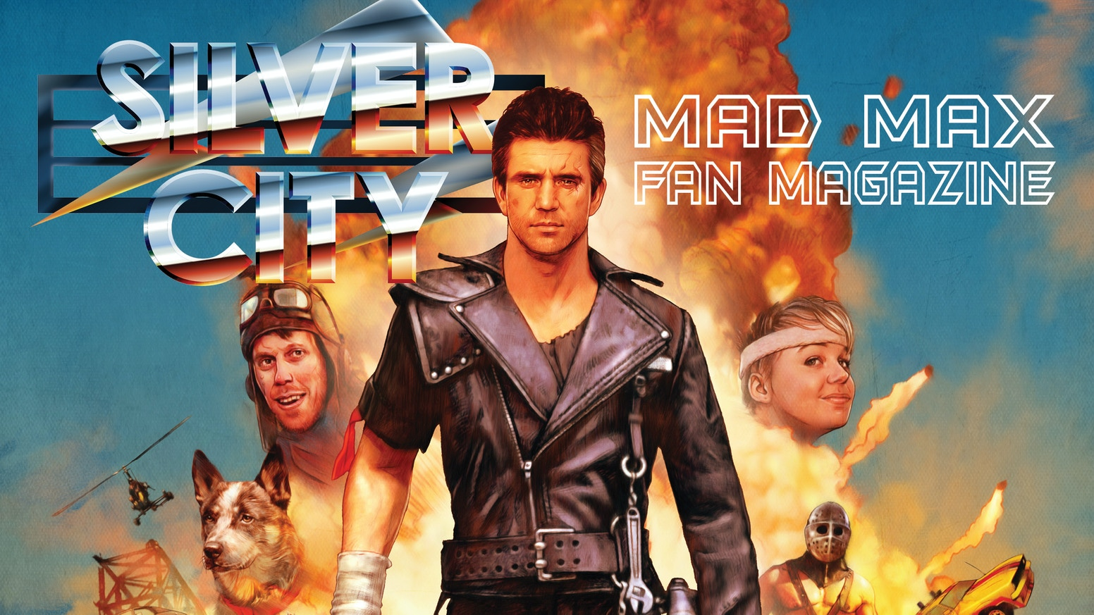 MAD MAX Fan Magazine - 'Silver City' - the first ever Mad Max fan magazine!