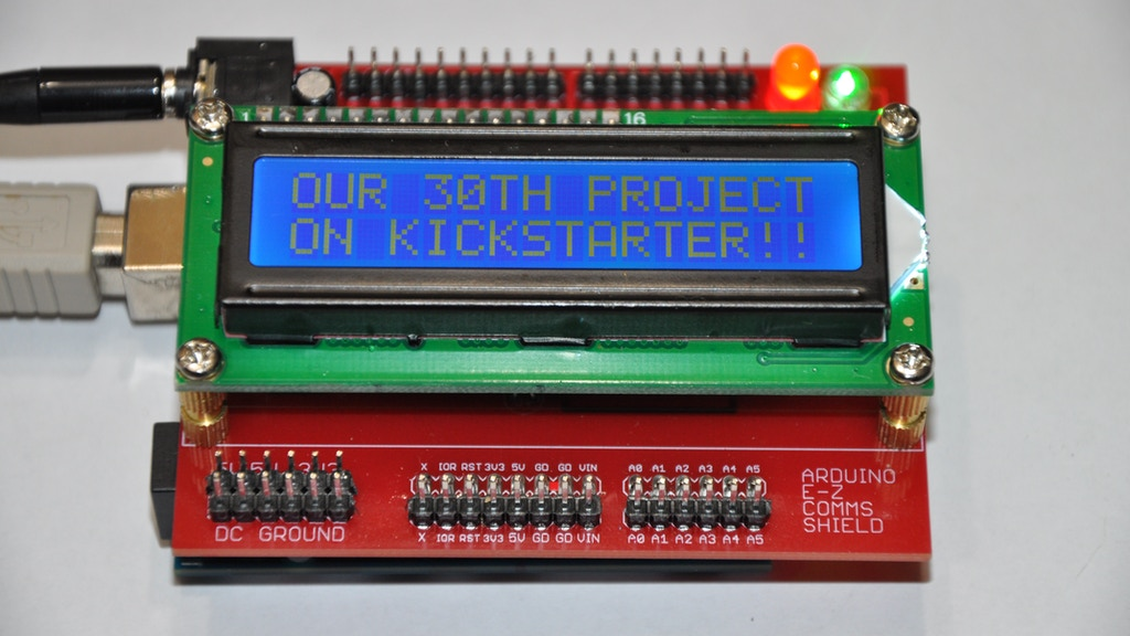 The Arduino E-Z COMMS Shield - Our 30th Kickstarter Campaign project video thumbnail