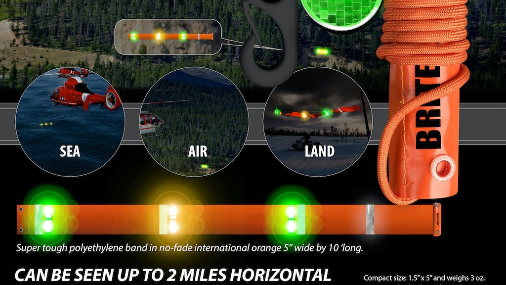 SEAL; Sea, Air, Land Brite-Rescue, Emergency Lighted Band project video thumbnail