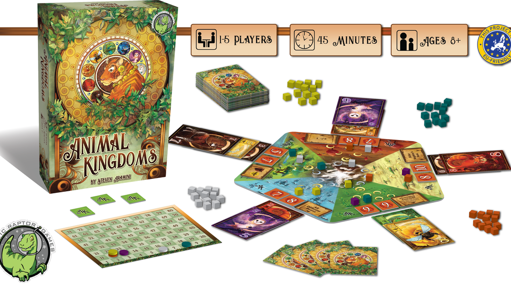 Animal Kingdoms - An award-winning game of area control! project video thumbnail