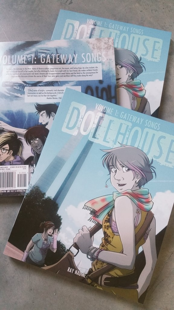 Dollhouse Vol 1: Gateway Songs, the paperback comic