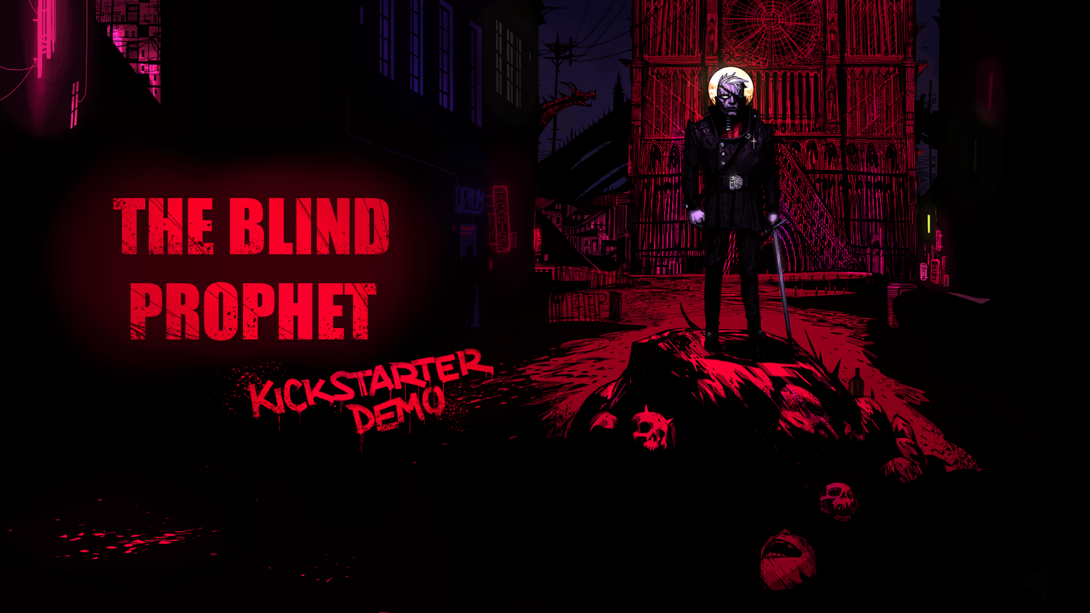 A dark and mature point 'n' click adventure and narrative game set in a corrupted city.