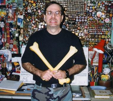 """The infamous Bob """"X"""" in the Xex studio"""