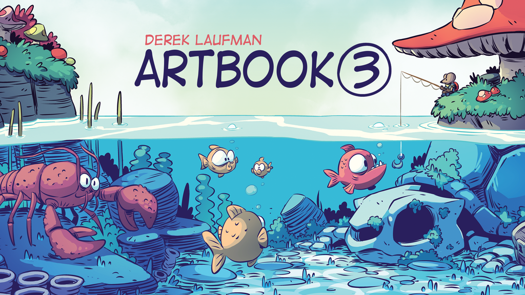 Derek Laufman: Artbook 3 project video thumbnail
