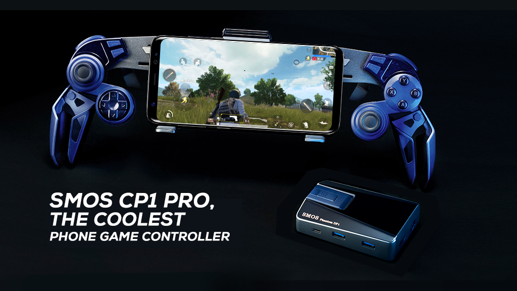 SMOS CP1 Pro, the Coolest Phone Game Controller