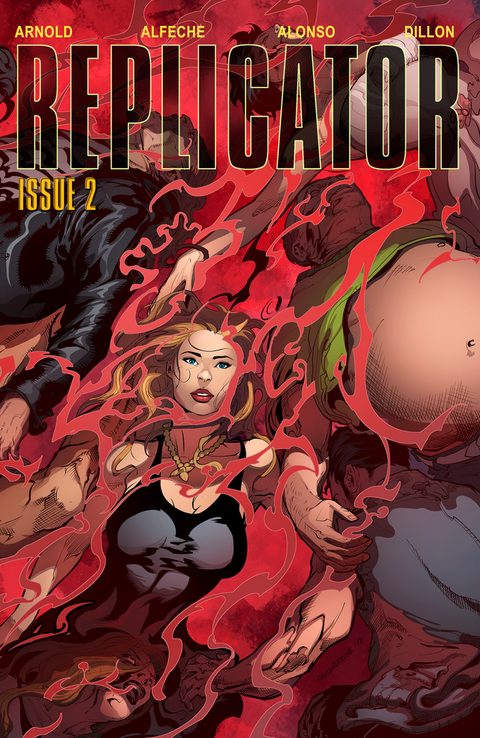 REPLICATOR #1-2 Limited Edition. Post Apocalyptic Sci-Fi