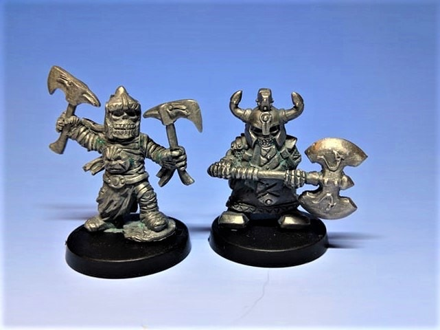 Metal Masters Of Tomb King And Bezerker Lord