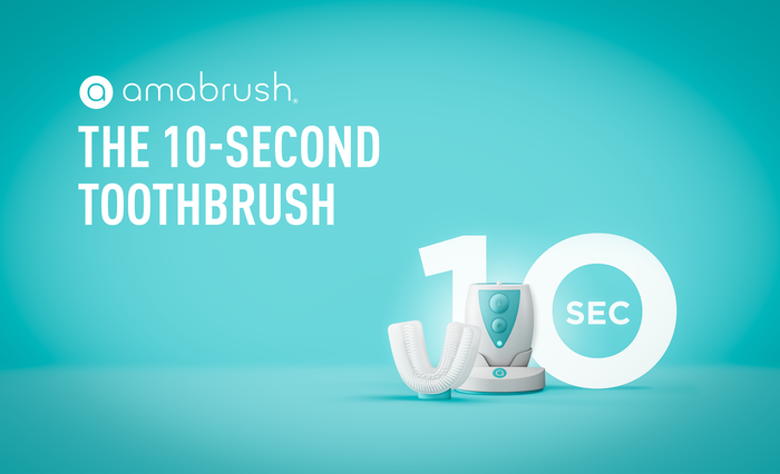 Do you like brushing your teeth? Especially at night when you get ready for bed? Amabrush is the first toothbrush, that cleans all your teeth at once in just 10 seconds!