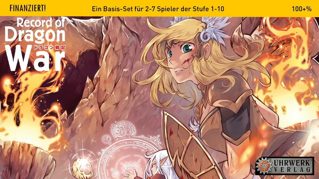 Record of Dragon War - Ein Manga Fantasy RPG Project-Video-Thumbnail