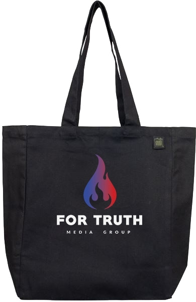 For Truth Media Eco Bag Tote (Recycled Materials)