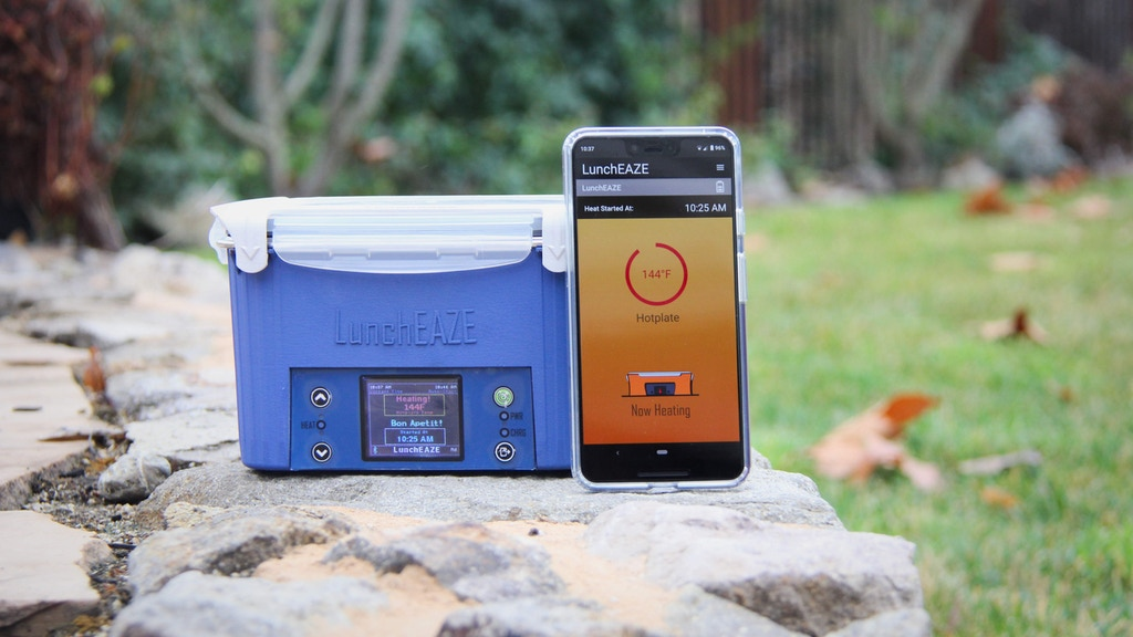LunchEAZE: The Self-Heating Lunchbox project video thumbnail