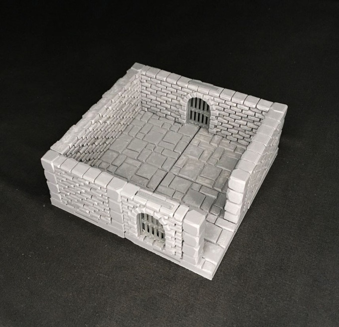 Gothic City Insert-able walls can be configured any way you want!