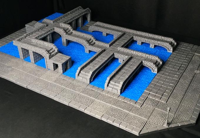 Create bridges of any length or shape!