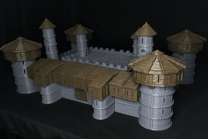 Gothic City Castle parts and Gothic City Buildings parts can be combined to create amazing structures!