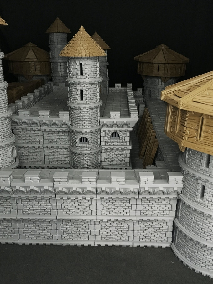 Create your inner castle anyway you choose with insert able walls and placeables!