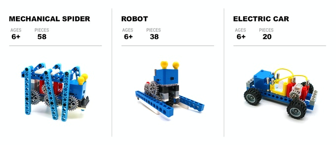 Papalabs: LEGO® Friendly Electronic Building Blocks by Vritual