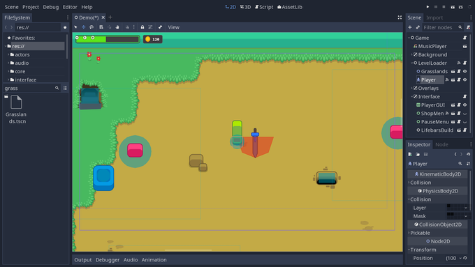 Create your Own Games with Godot, the Free Game Engine by Nathan