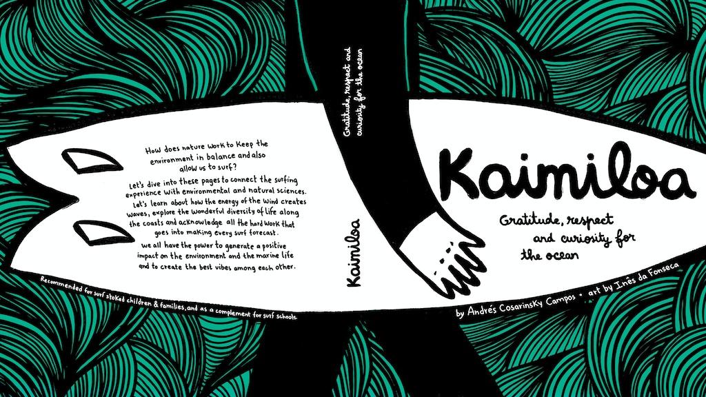 KAIMILOA | Children's Surfbook project video thumbnail