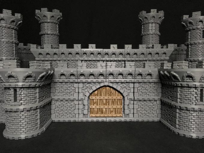 Look at this drawbridge!