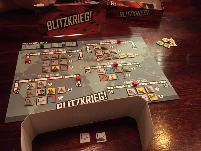 A prototype copy of Blitzkrieg! has its public debut in a Brighton (UK) pub - at PSC Dan's birthday celebration...