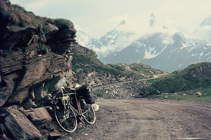 On the Swiss/Italian border, 1969