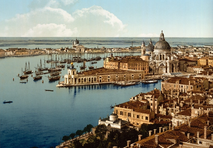 View of Venice, Italy ( 1890-1900 ) Photochrom/Library of Congress
