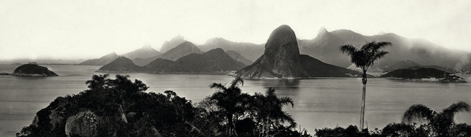Coastal View of Brazil ( 1860s-1880s ) - Marc Ferrez/The J. Paul Getty Museum